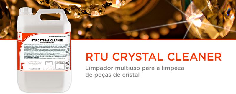 Lançamento:  RTU Crystal Cleaner