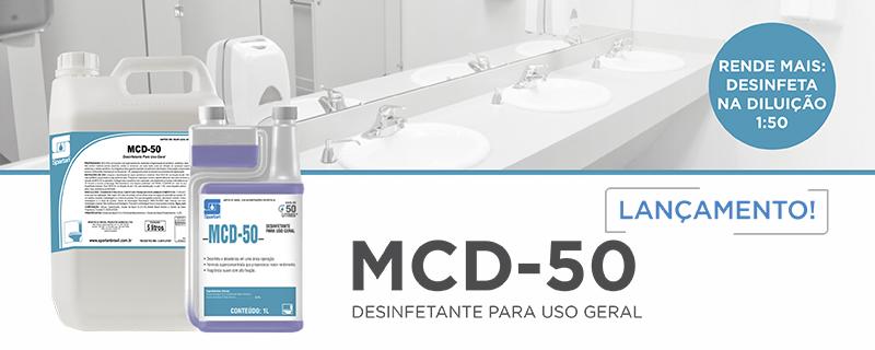 Lançamento: MCD-50