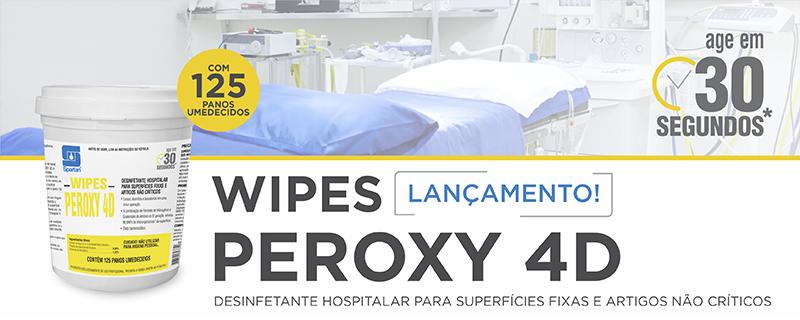Lançamento: Wipes Peroxy 4D