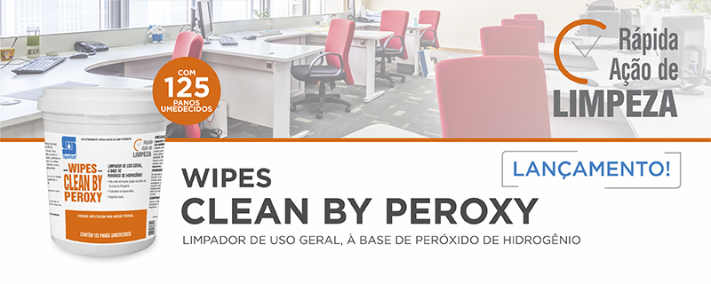 Lançamento: Wipes Clean By Peroxy