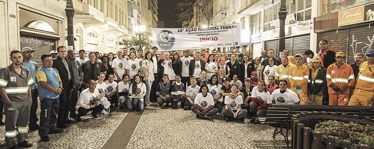 Spartan Participa da 10ª Ação Nacional Febrac