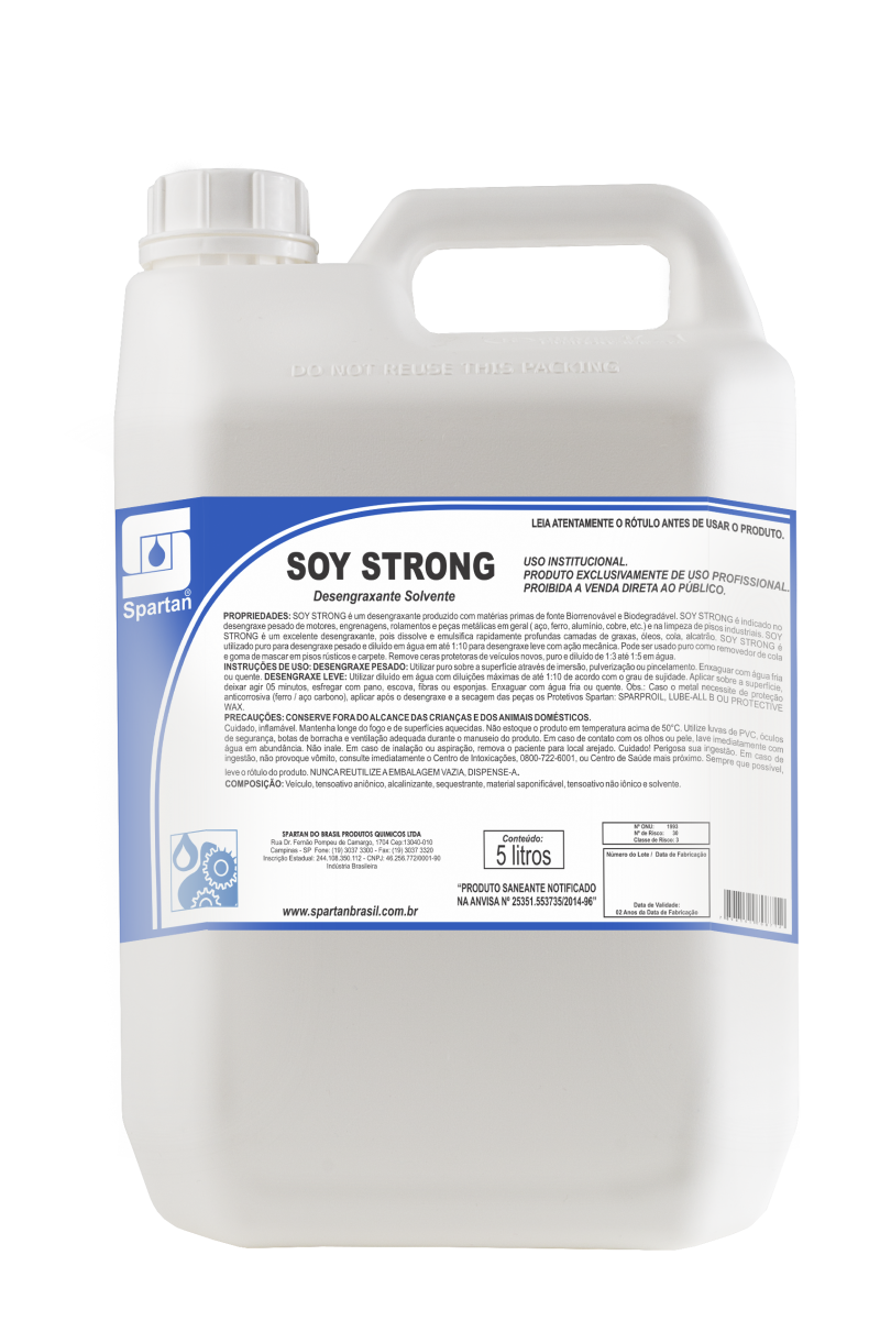 Soy Strong