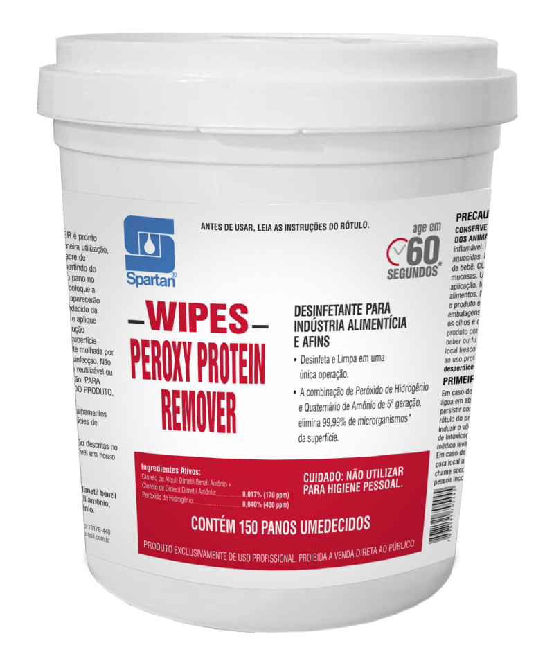 Wipes Peroxy Protein Remover