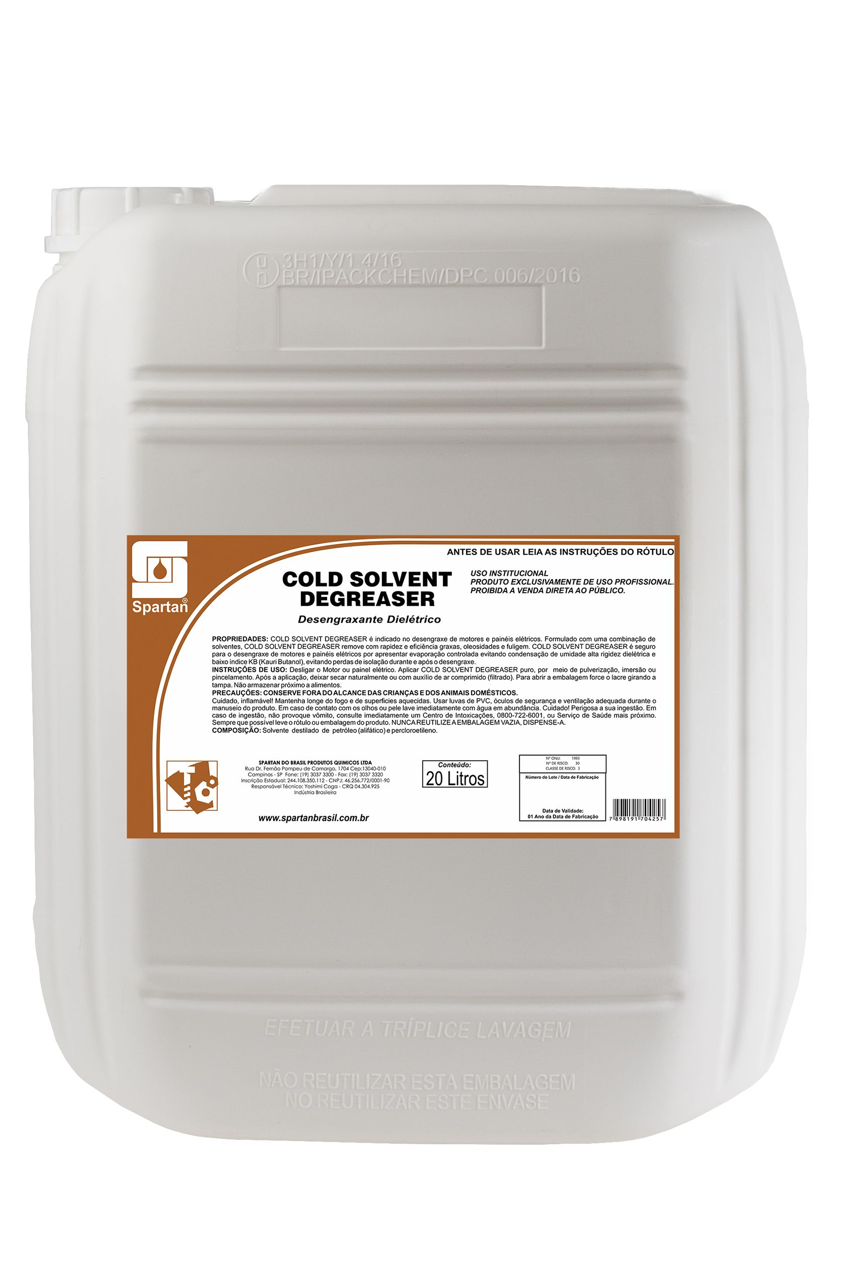 Cold Solvent Degreaser – CSD
