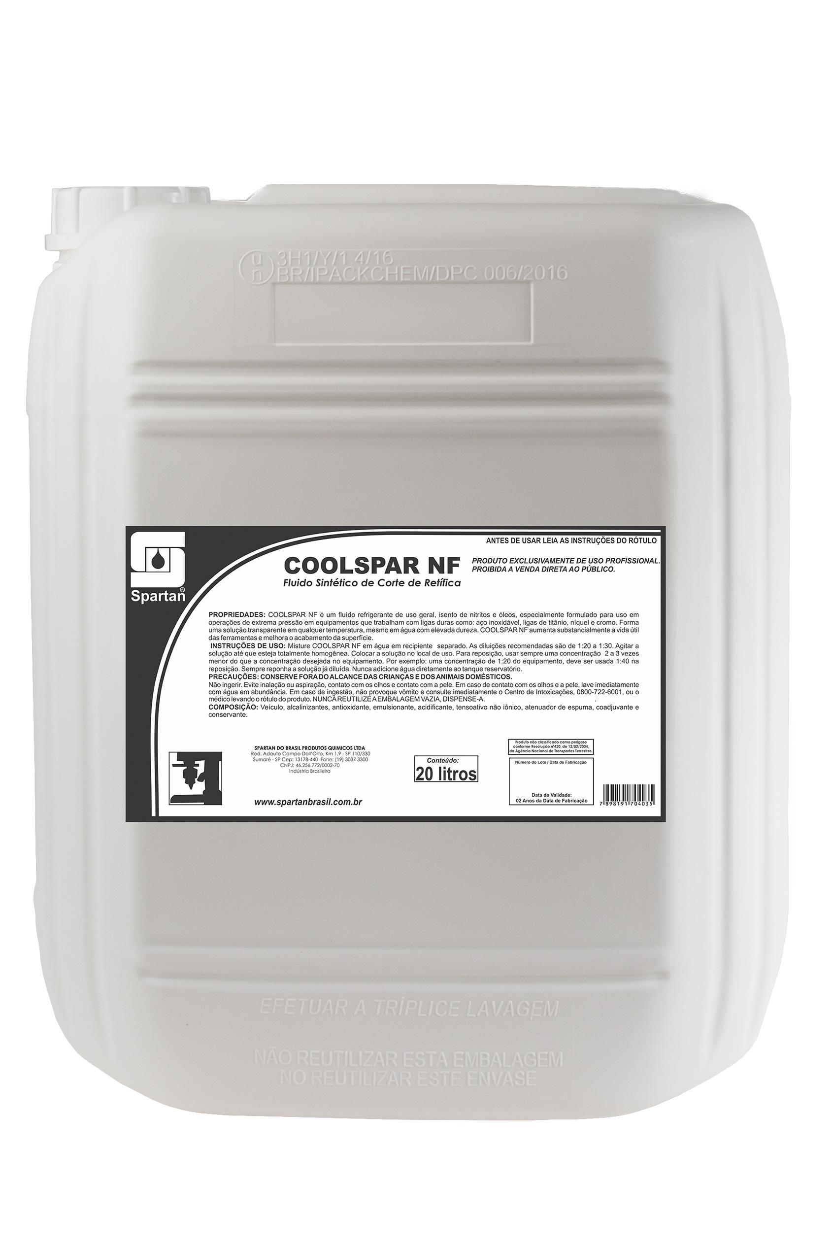 Imagem ilustrativa do produto: Coolspar NF
