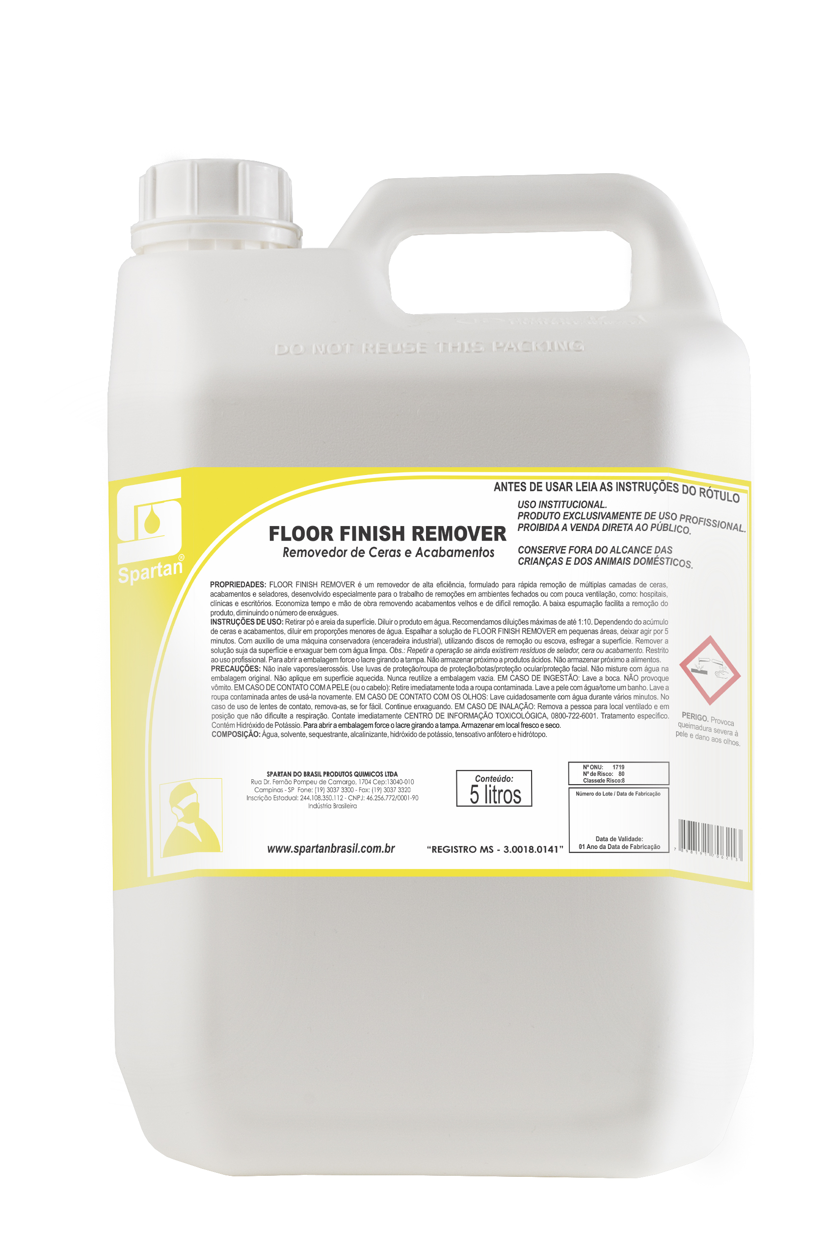 Floor Finish Remover