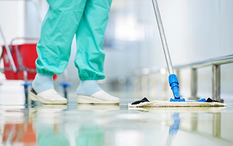 Limpeza e Desinfecção de Ambientes